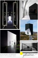 Monochrome Masterpieces   Black and White Design Trends Curated by Yellowtrace.