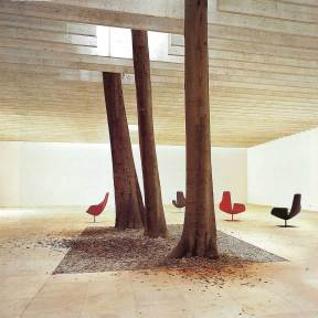 Trees in Interiors | Yellowtrace.