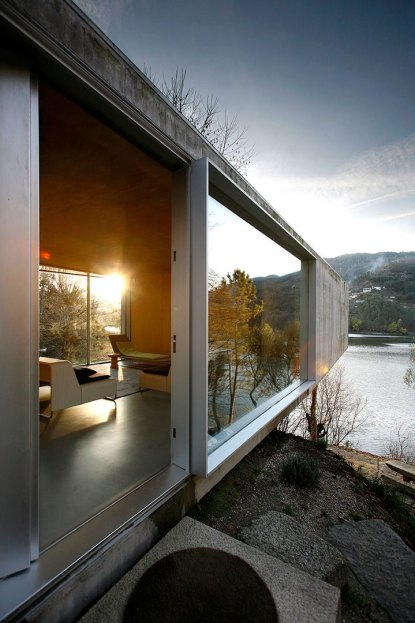 Concrete House in Geres, Portugal by Correia/Ragazzi | Yellowtrace.