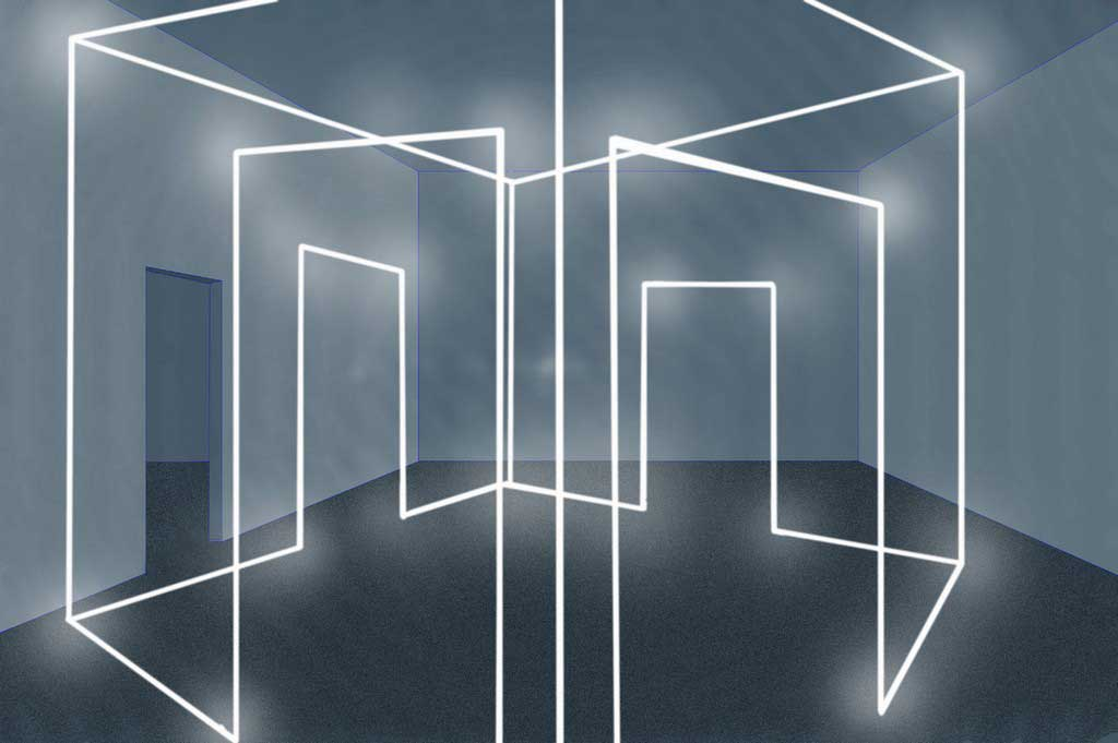 Massimo Uberti Neon Light Installations Yellowtrace