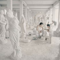 Chinese Artist Reproducing Classical Sculptures | Yellowtrace
