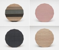 Colour Wood Tabels by Karimoku New Standard | Yellowtrace