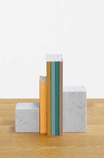 E15 Marble Book Ends | Yellowtrace