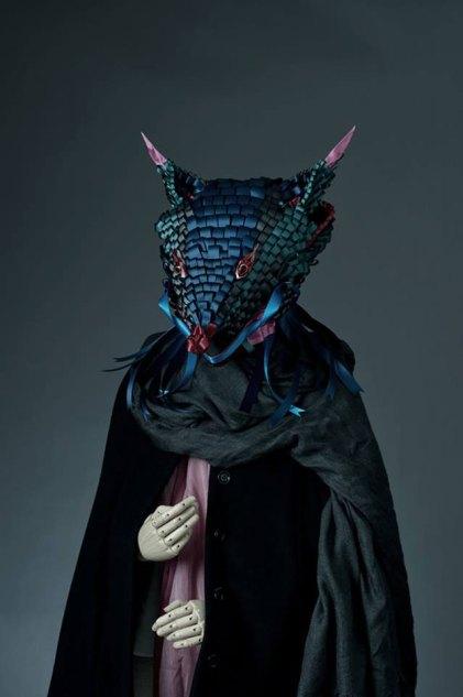 Ribbonesia Masks by Baku Maeda | Yellowtrace