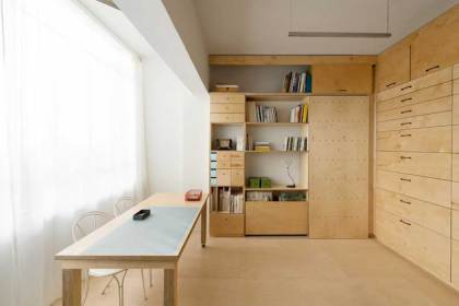 Multifunctional Artist Studio in Tel Aviv by Raanan Stern | Yellowtrace