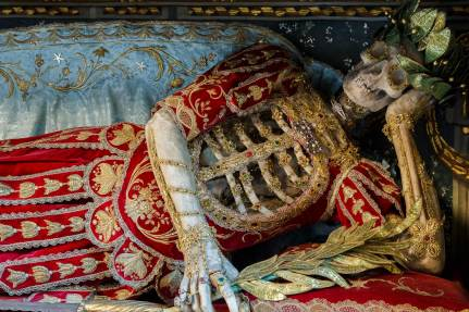Heavenly Bodies: Spectacular Catacombs Saints Photographed by Paul Koudounaris   Yellowtrace
