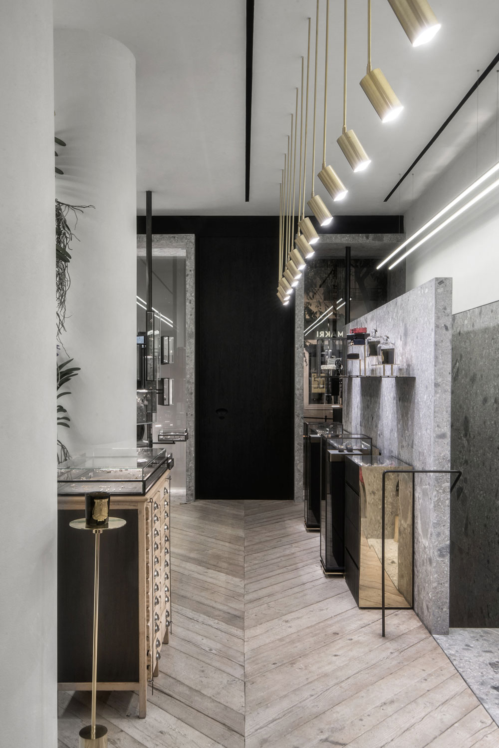 Ileana makri store by kois associated architects yellowtrace for Associated flooring