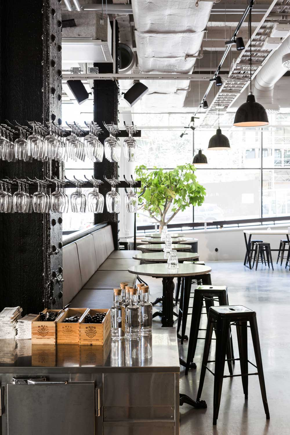usine restaurant stockholm by richard lindvall yellowtrace. Black Bedroom Furniture Sets. Home Design Ideas