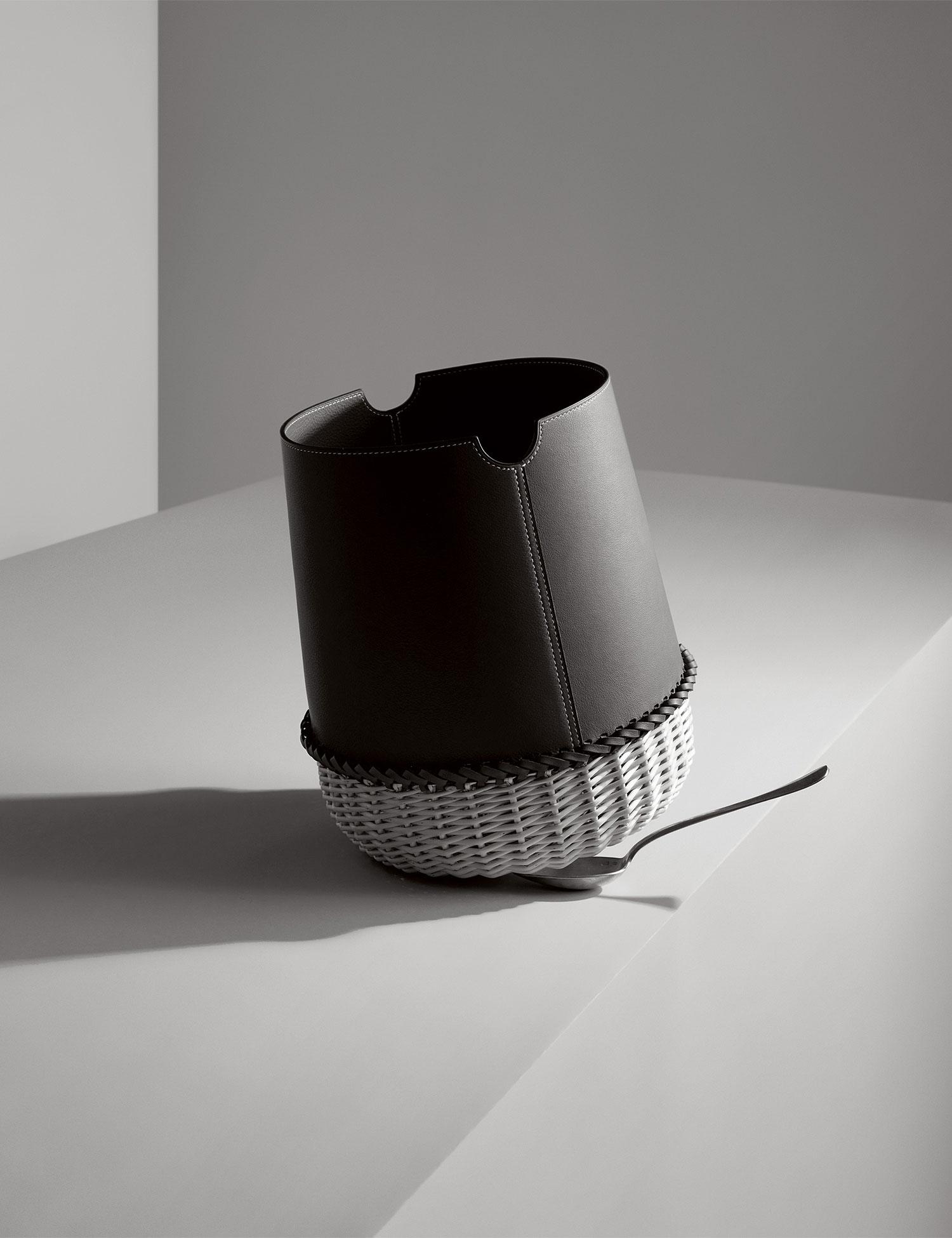 hermes home collections set inside raw brick pavilion in milan. Black Bedroom Furniture Sets. Home Design Ideas