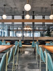 AvroKO Designs a Workplace Cafeteria | Yellowtrace