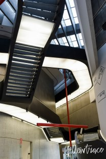 MAXXI Museum Rome by Zaha Hadid. Photo by Nick Hughes | Yellowtrace