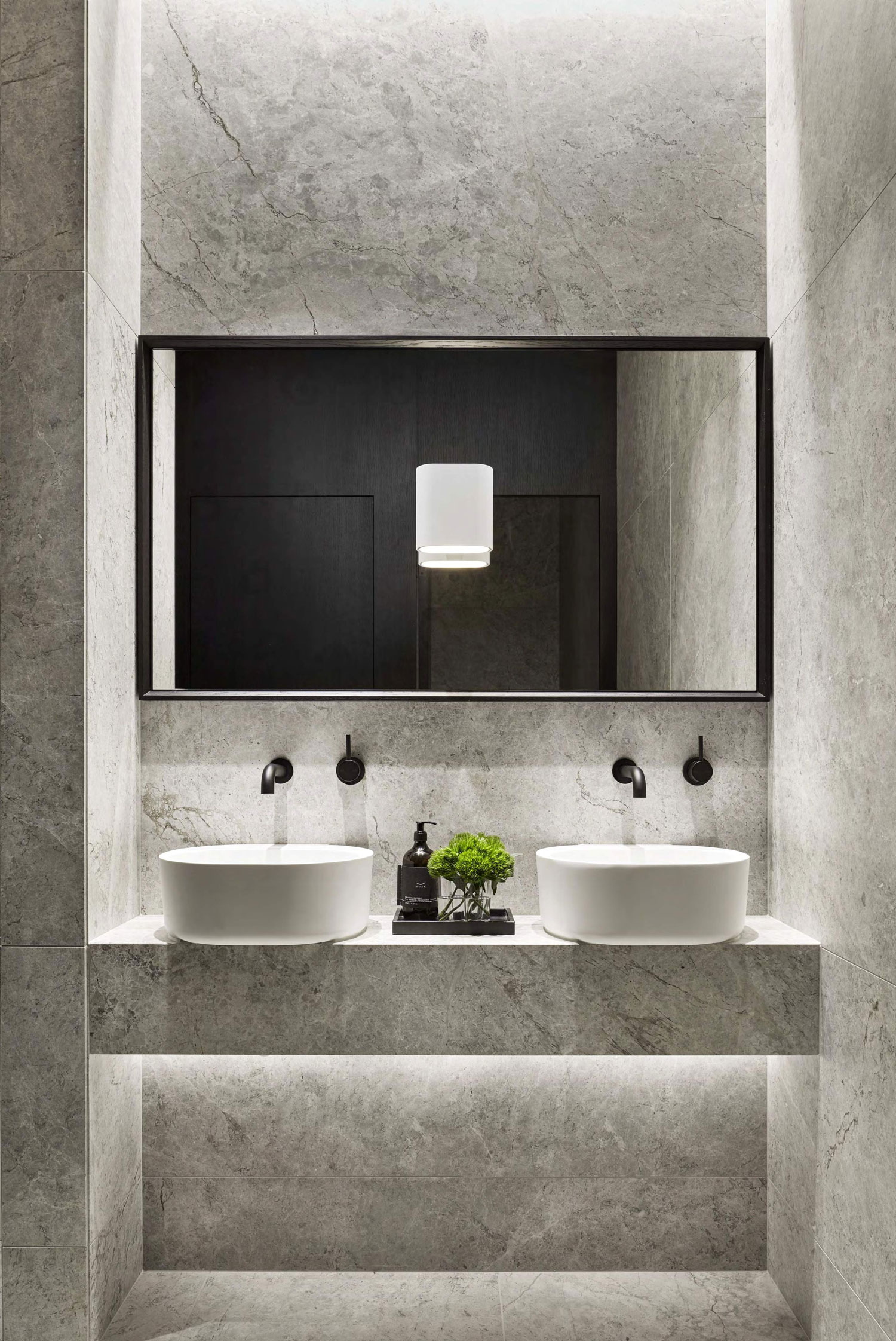 Pdg melbourne head office by studio tate yellowtrace for Small washrooms designs