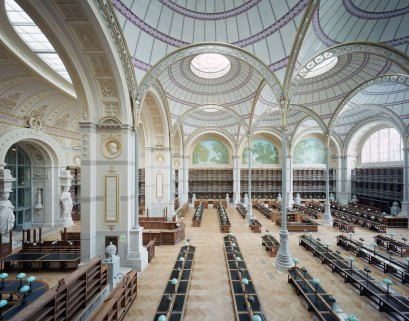 Spectacular Renovation of The National Library of France by Atelier Bruno Gaudin | Yellowtrace