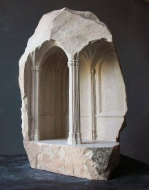Architectural Marble Carvings by Matthew Simmonds | Yellowtrace
