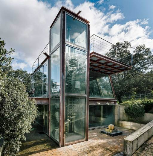 The Hidden Pavilion in Madrid, Spain by Penelas Architects | Yellowtrace