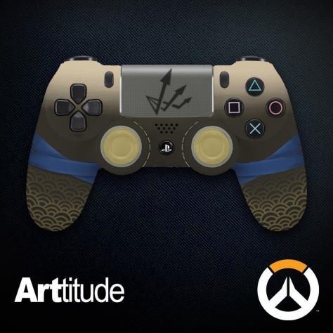 Overwatch lanza 24 controles edición especial para PS4 y Xbox One