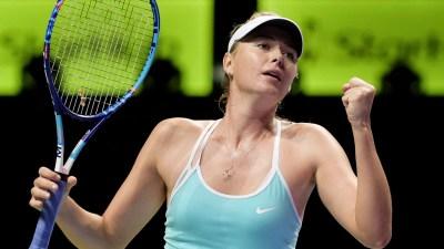 Sharapova extends winning run at WTA Finals - Sportsnet.ca