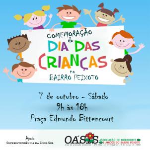 feira dia das crianças