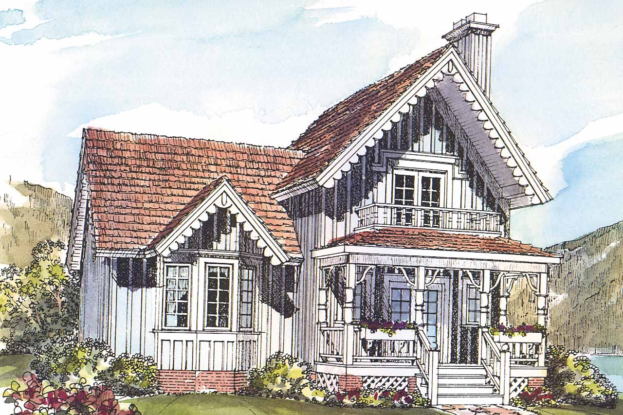 Fullsize Of Small Victorian House