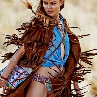 Zosia Nowak by Dimitris Skoulos for Elle Greece September 2015