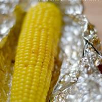 Grilling Corn & a Veggie Dinner
