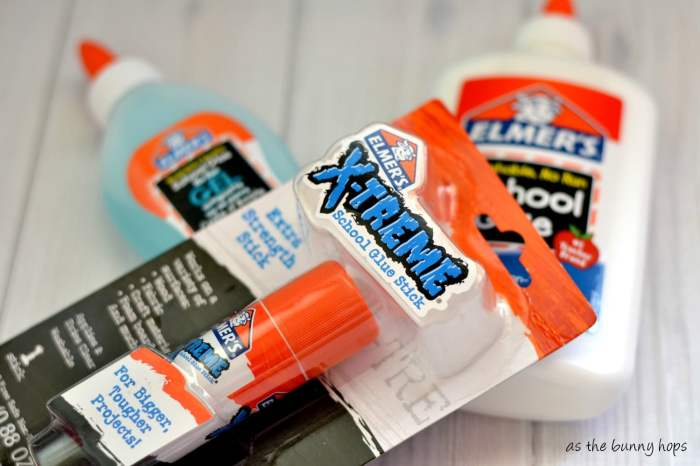 Stock up on glue for crafting during back to school season. #SavingsCatcher