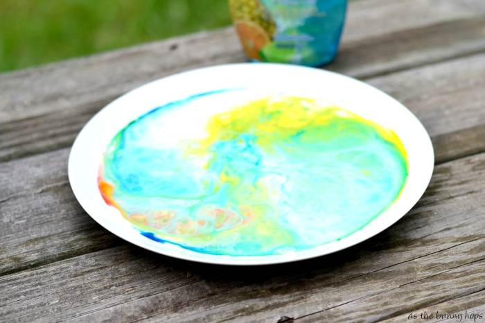 Fun Mixing Soap, Milk and Food Color #Palmolive25Ways #shop