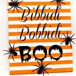 Bibbidi Bobbidi Boo Halloween Art with Printable and Cut File