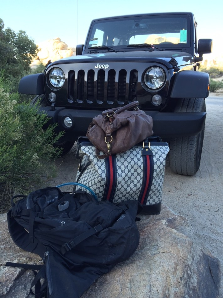 Jeep Gucci Joshua Tree