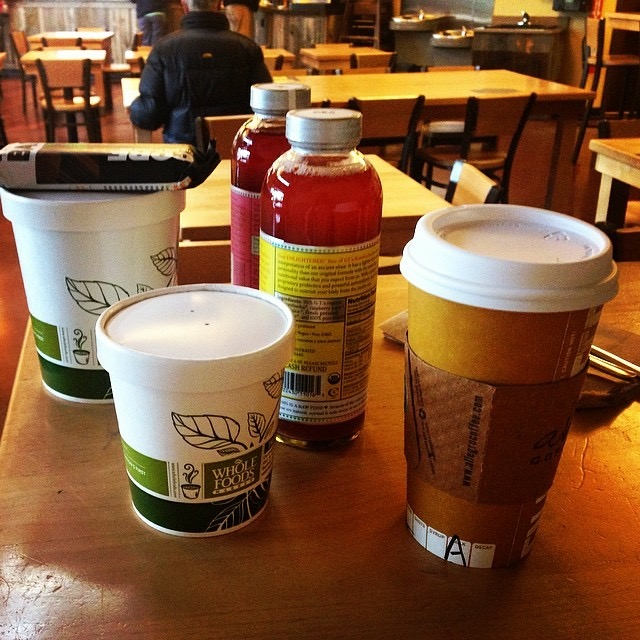 LL Breakfast at Whole Foods while in Boulder, CO