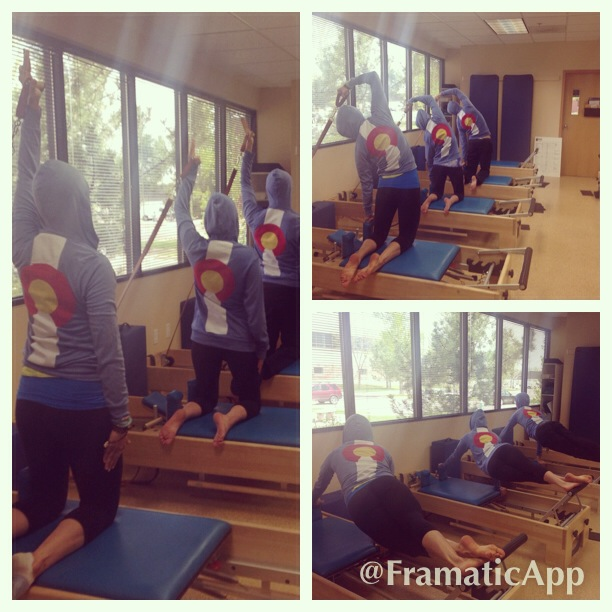 LL at The Pilates Center in Boulder, CO