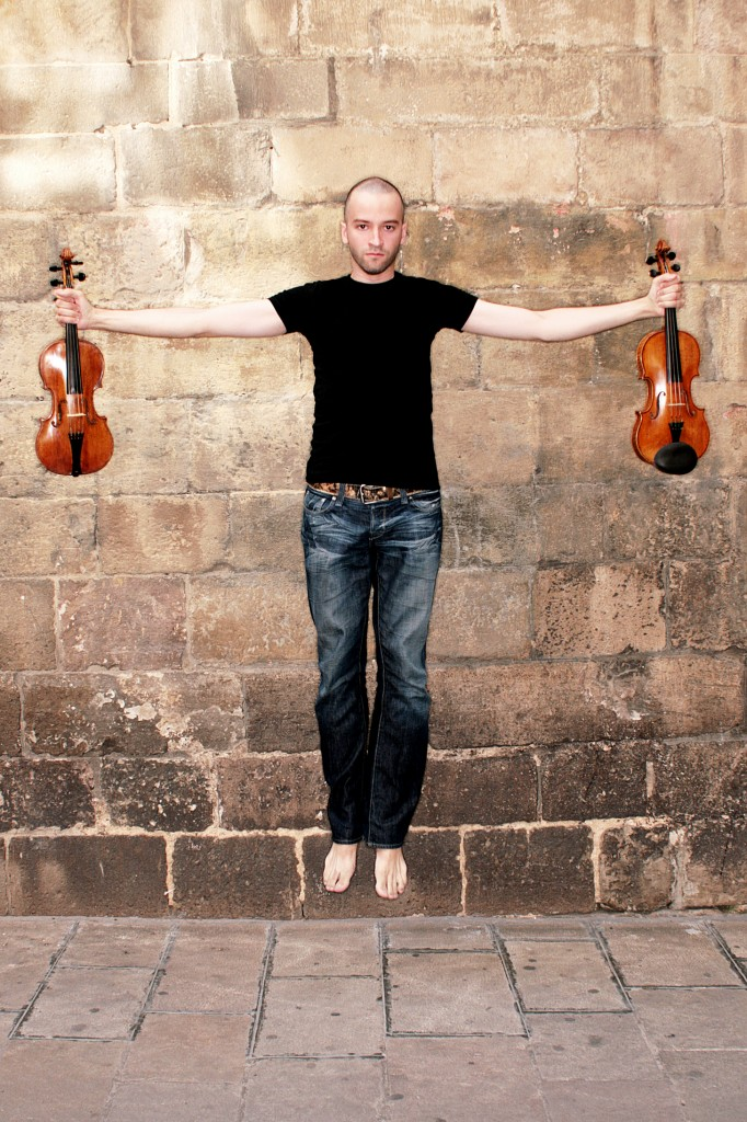 Aston Magna Violinist Joan Plana
