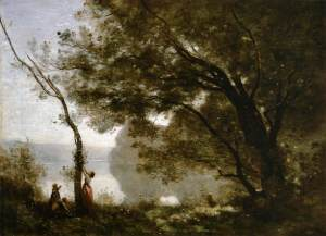 Jean-Baptiste-Camille_Corot_-_Souvenir_of_Mortefontaine_-_WGA5292