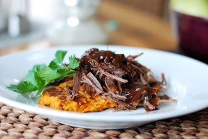 Slow Cooker Beef Brisket with Bourbon Espresso Glaze