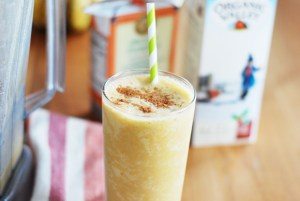 Egg Nog Pumpkin Latte Smoothie