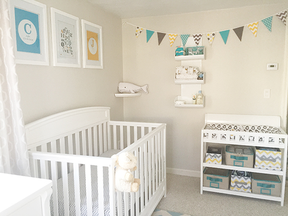 Blue, Yellow & Grey Nursery