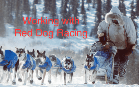 Working Side by Side with Red Dog Racing