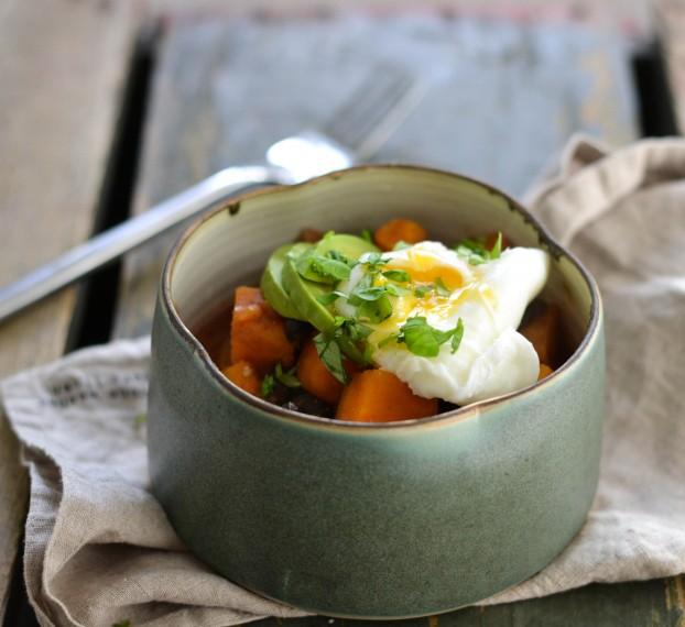 Savoury breakfast bowl - A tasty love story