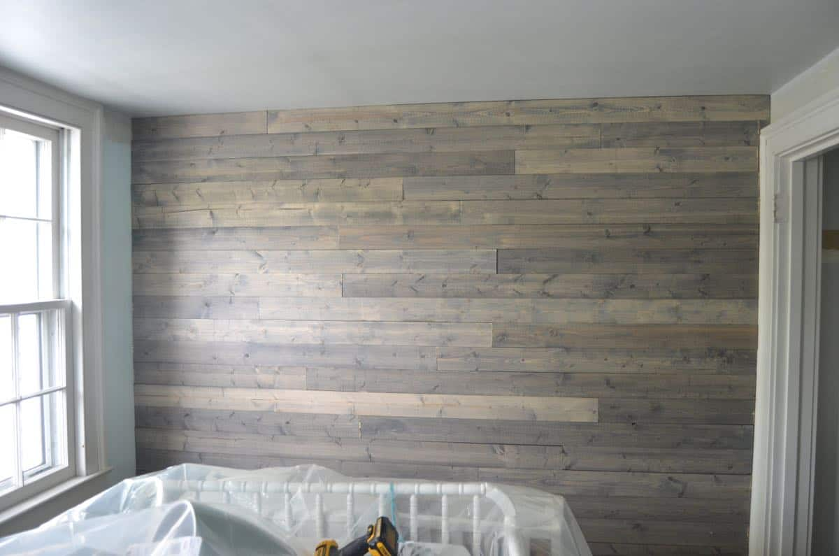 Fantastic Reclaimed Wood How To Fake A Reclaimed Wood Plank Wall Reclaimed Wood Wall Ideas Reclaimed Wood Wall Diy How To Make Basic Pin Look Like A Weared houzz 01 Reclaimed Wood Wall