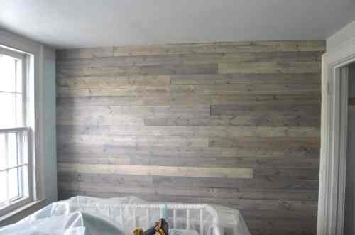 Medium Of Reclaimed Wood Wall