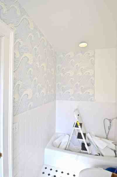 How To: Removable Wallpaper - At Charlotte's House