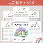 FREE Word Families House Pack