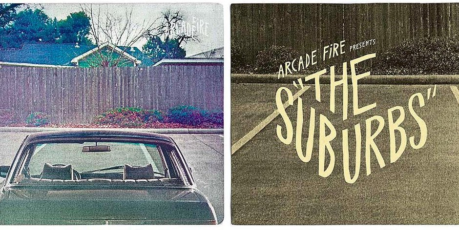 Arcade Fire living in The Suburbs