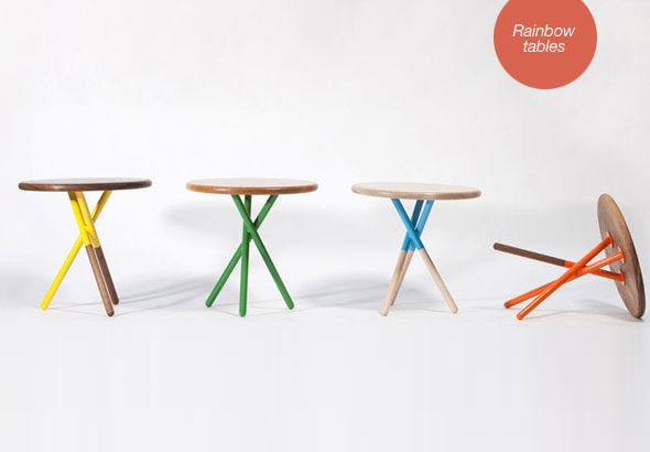 Side tables by Curtis Popp