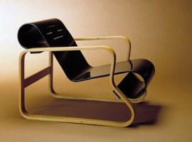 Paimio-tuoli, suunnittelija Alvar Aalto