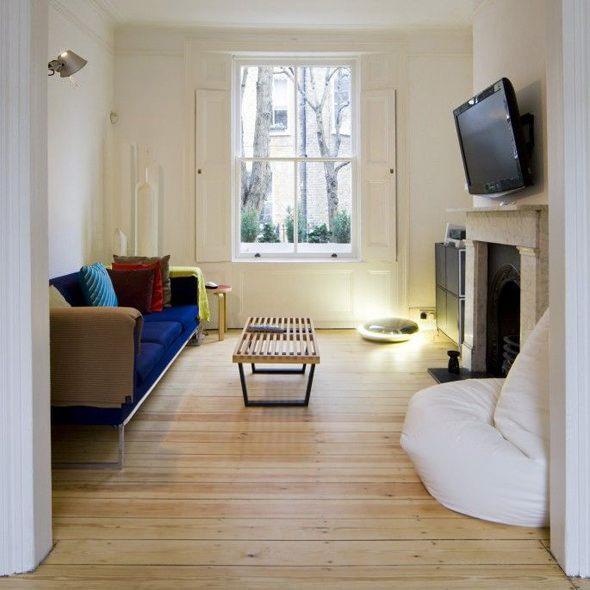 VW+BS Islington House living room TV room ideas
