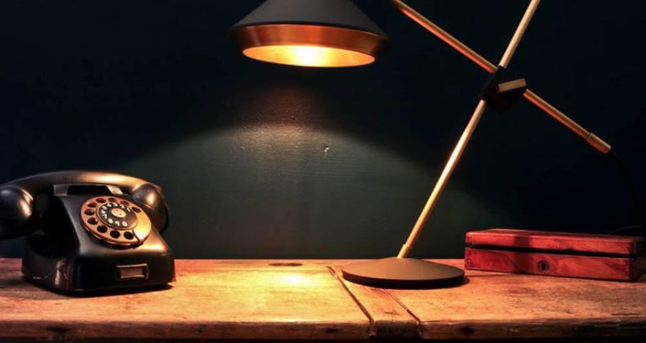 Bert Frank's Shear lamp