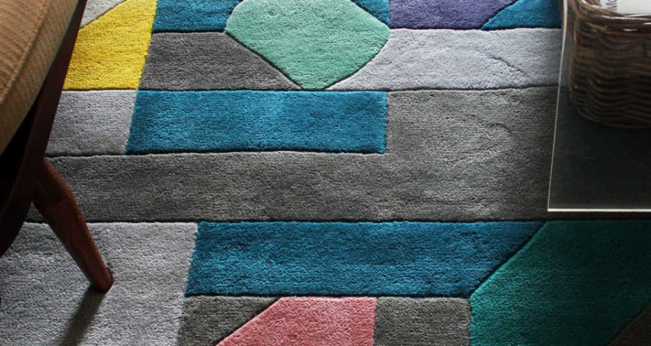 Good design should make you happy. Casa Estudio's Merida Rug for Made.com