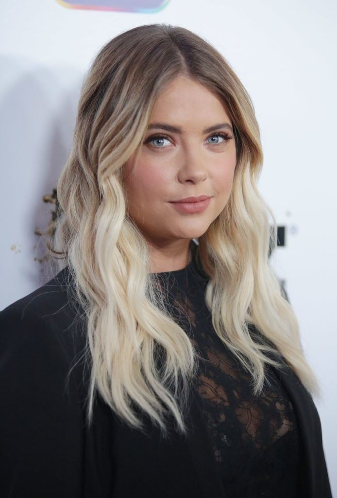 Ombre hair  Everything you need to know about the colouring trend ashley benson long wavy blonde ombre hair