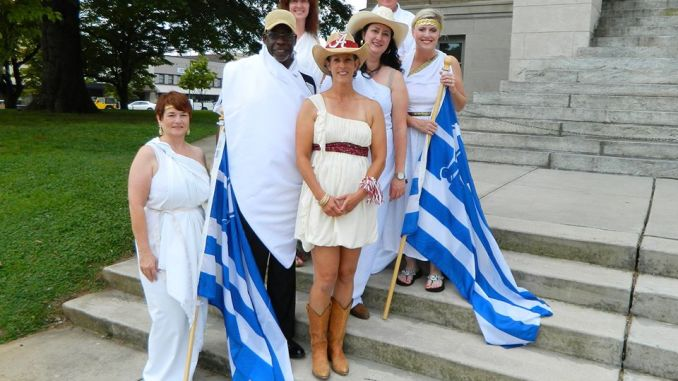 The Spirit of Athens hosted the first Athens Grease Festival in 2012 as a celebration of all things fried and the Greek origin of the city's name.
